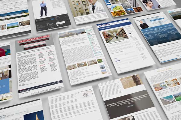 website design at the Dines Group in Pittsburgh